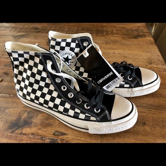 checkered converse - WinWin Atlantic